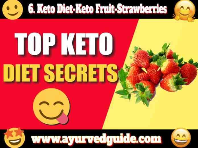 Keto Diet-Keto Fruit-Strawberries
