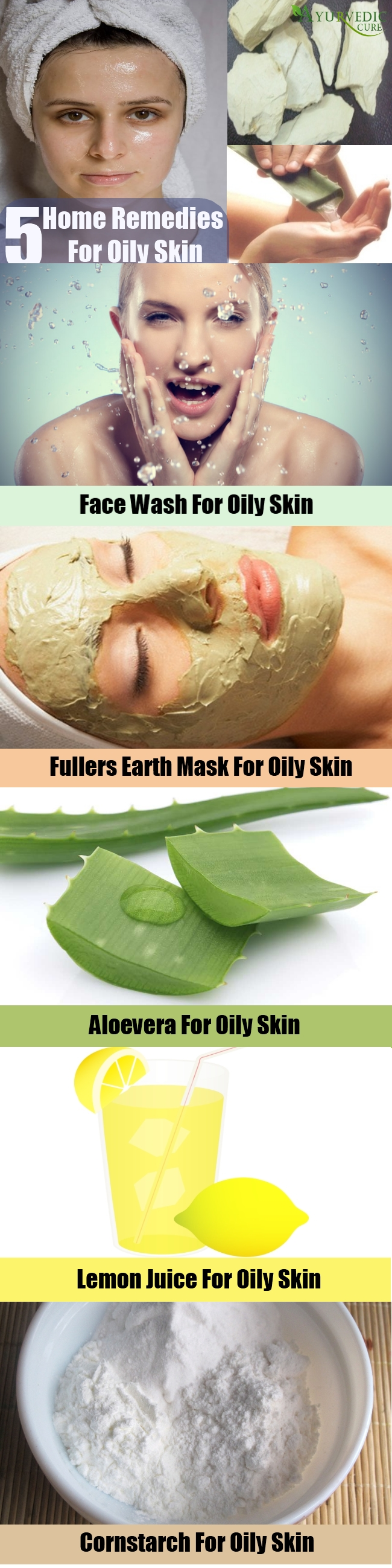 5 Easy Home Remedies For Oily Skin