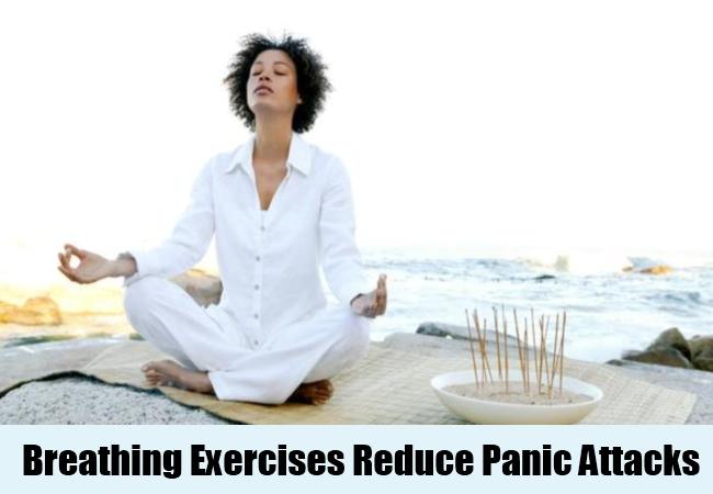 Breathing Exercises Reduce Panic Attacks