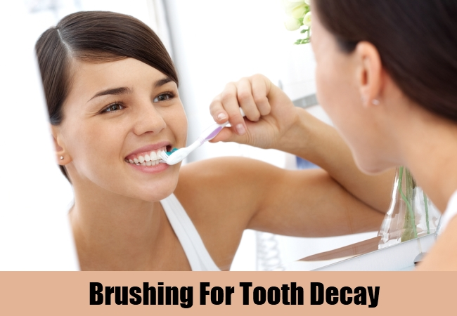 Brushing For Tooth Decay