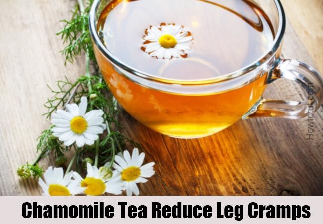 Chamomile Tea Reduce Leg Cramps