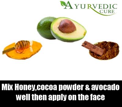 Cocoa Powder, Honey And Avocado