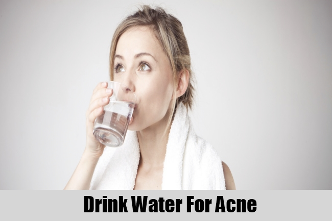 Drink Water For Acne