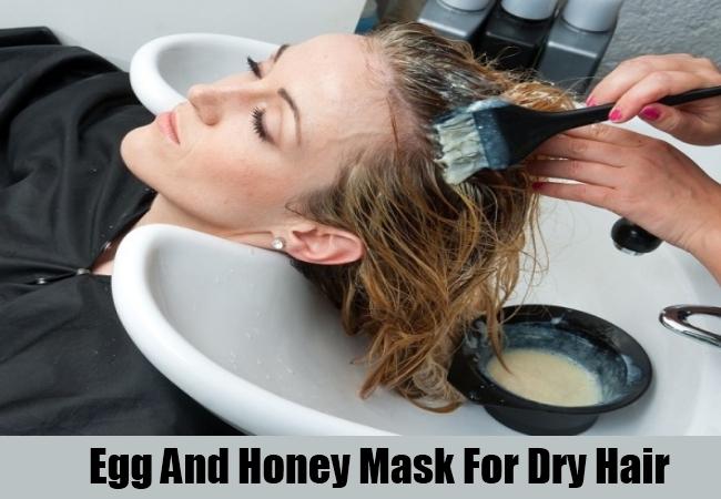 Egg And Honey Mask For Dry Hair