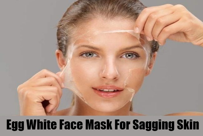 Egg White Face Mask For Sagging Skin