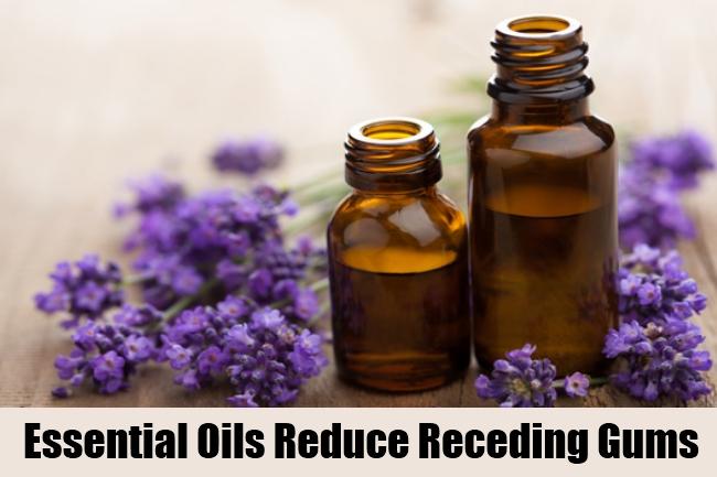 Essential Oils Reduce Receding Gums