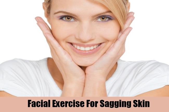 Facial Exercise For Sagging Skin