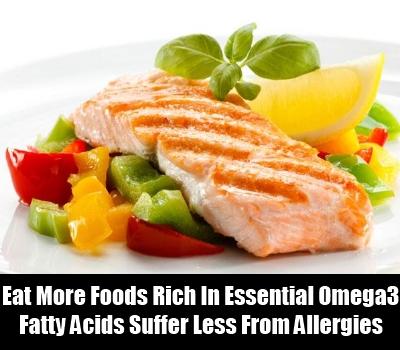 Foods Rich In Essential Fatty Acid