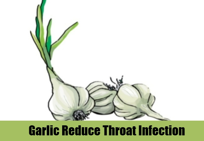 Garlic Reduce Throat Infection