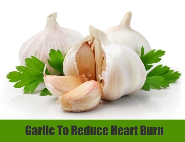 Garlic To Reduce Heart Burn