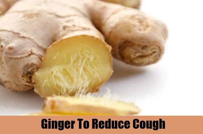 Ginger To Reduce Cough