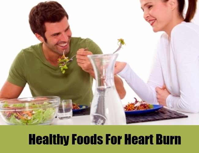 Healthy Foods For Heart Burn