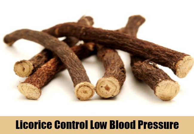 Licorice Control Low Blood Pressure