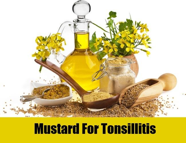 Mustard For Tonsillitis