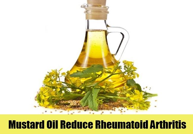 Mustard Oil Reduce Rheumatoid Arthritis