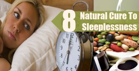 Natural Cure To Sleeplessness