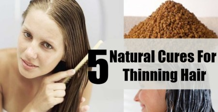 Natural Cures For Thinning Hair