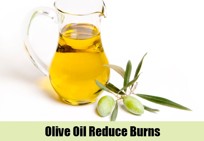 Olive Oil Reduce Burns