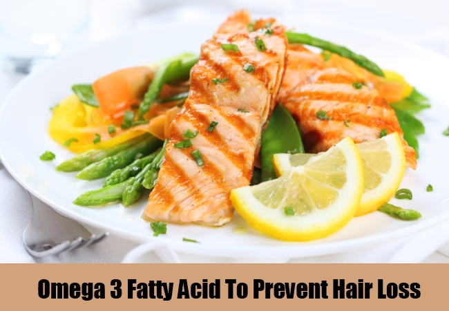 Omega 3 Fatty Acid To Prevent Hair Loss
