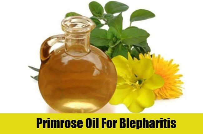 Primrose Oil For Blepharitis