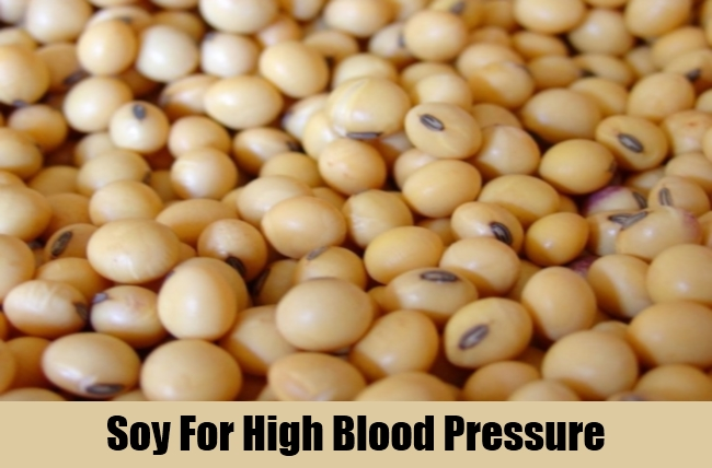 Soy For High Blood Pressure