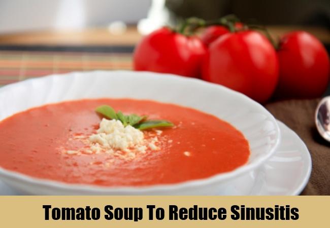 Tomato Soup To Reduce Sinusitis