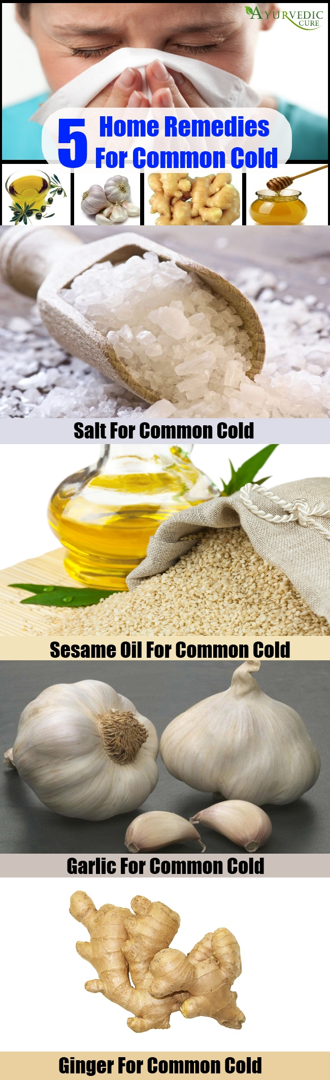 Top 5 Home Remedies For Common Cold