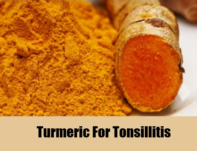 Turmeric For Tonsillitis