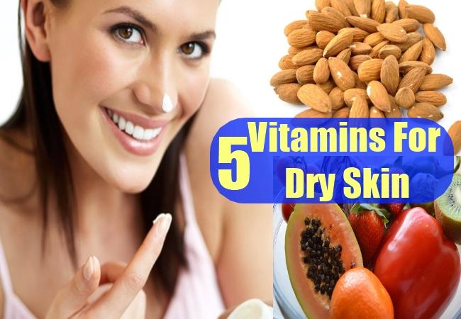 Vitamins For Dry Skin