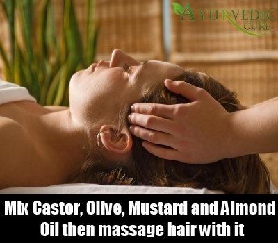 massage hair