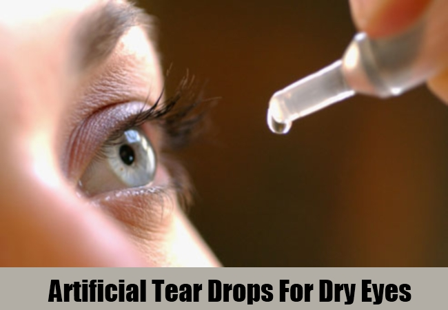 Artificial Tear Drops For Dry Eyes