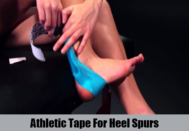 Athletic Tape For Heel Spurs