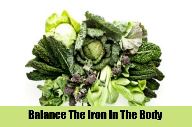Balance The Iron In The Body