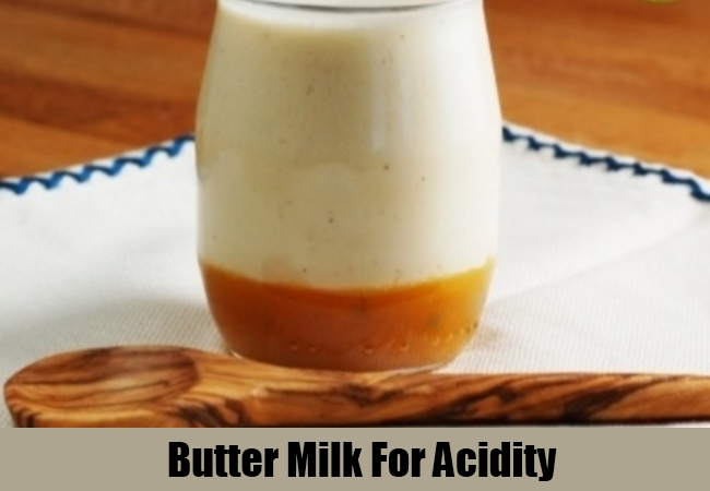Butter Milk For Acidity