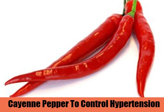 Cayenne Pepper To Control Hypertension