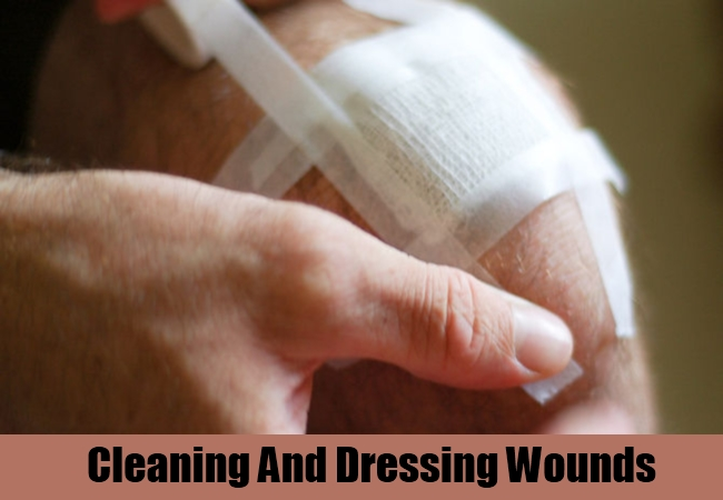 Cleaning And Dressing Wounds