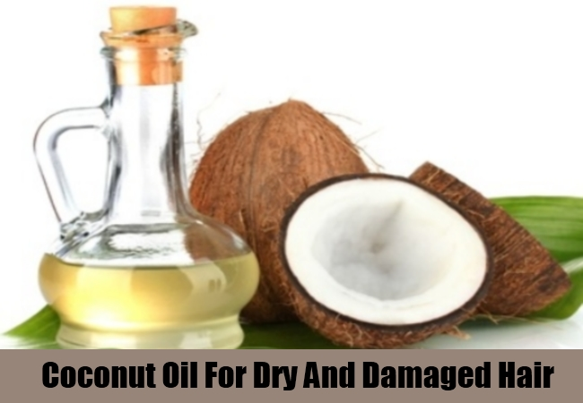 Coconut Oil For Dry And Damaged Hair