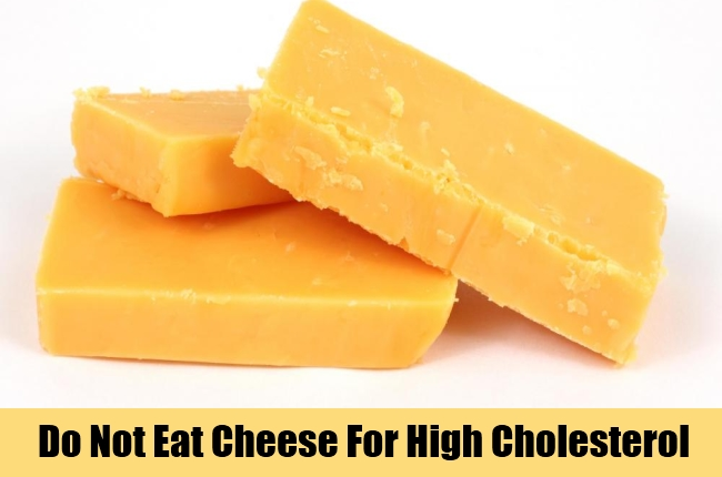 is cheese bad for cholesterol