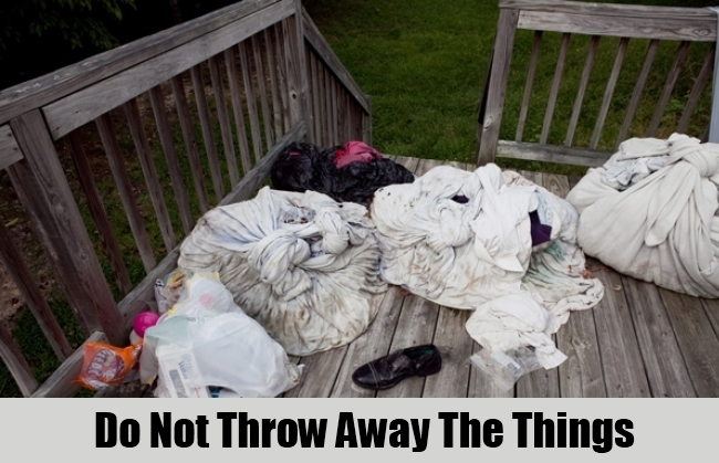 Do Not Throw Away The Things