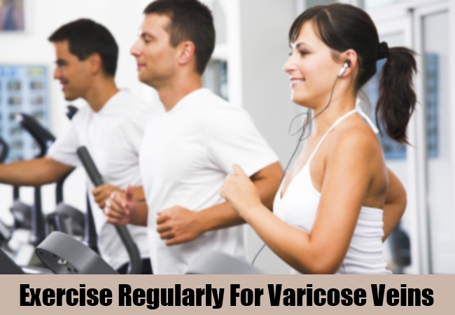 Exercise Regularly For Varicose Veins