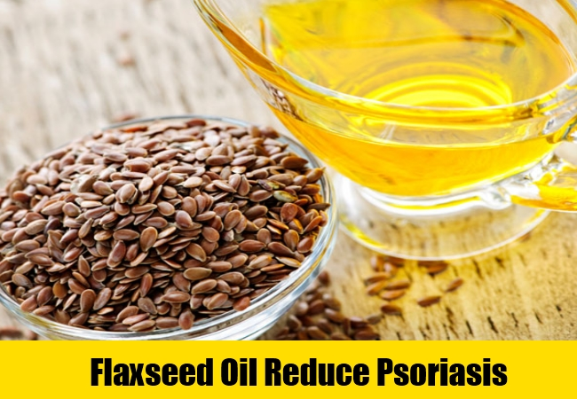 Flaxseed Oil Reduce Psoriasis