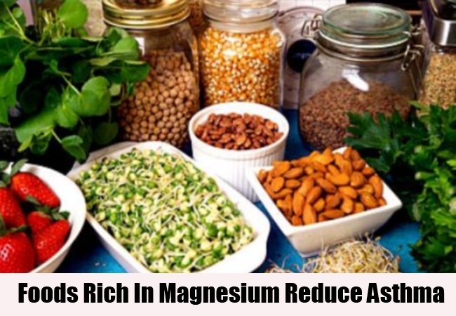 Foods Rich In Magnesium Reduce Asthma