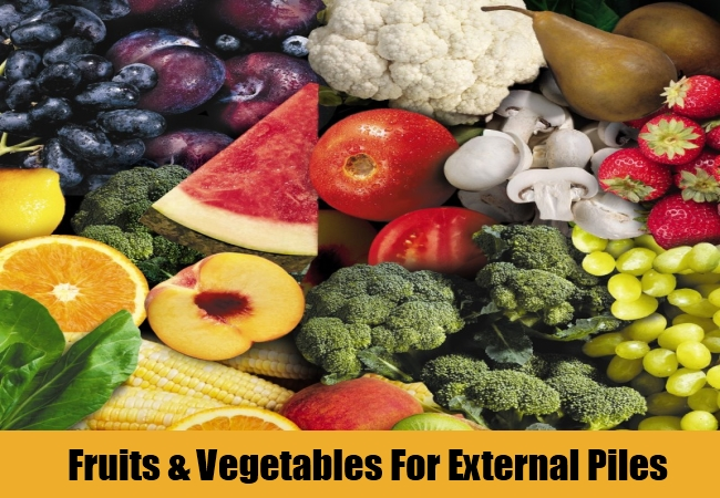 Fruits & Vegetables For External Piles