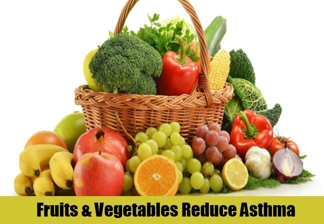 Fruits & Vegetables Reduce Asthma