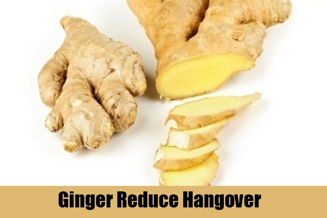 Ginger Reduce Hangover