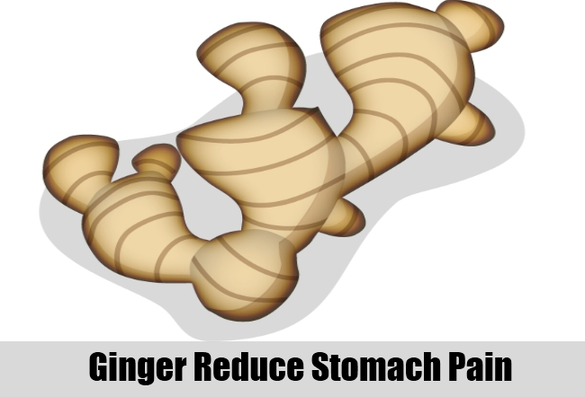 Ginger Reduce Stomach Pain