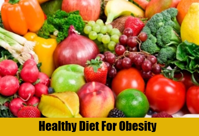 Healthy Diet For Obesity