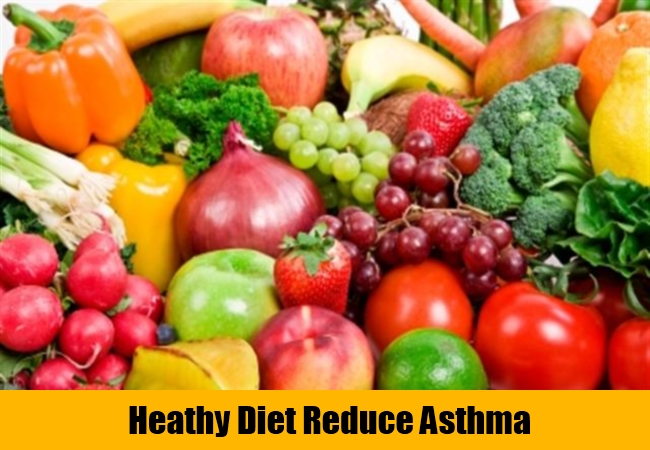 Heathy Diet Reduce Asthma