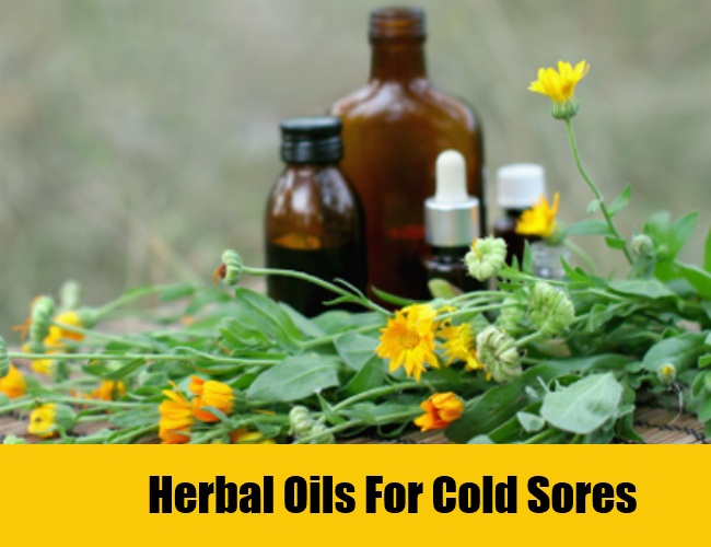 Herbal Oils For Cold Sores