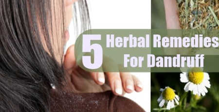 Herbal Remedies For Dandruff